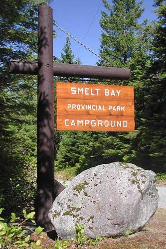 Smelt Bay Park, Cortes Island, Discovery Islands, British Columbia, Canada