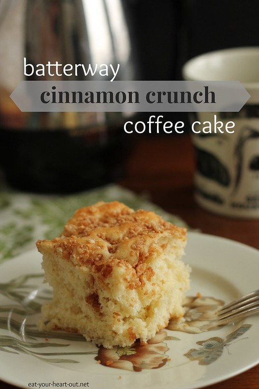 Batterway Cinnamon Crunch Coffee Cake