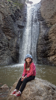 Brenna below Jump Creek Falls*