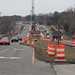 Construction on George Washington Memorial Highway - February 4, 2014.