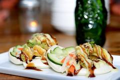 Avocado Tempura Bun @ Bites Asian Tapas
