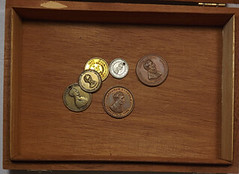 Box of 1860 campaign medals