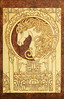 Noble Horse Art Nouveau style decorative wooden pyrography plaque