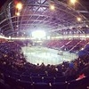 Different view from last night but same story. 3-0 @victoriaroyals in the First already!!! #warmupthebus