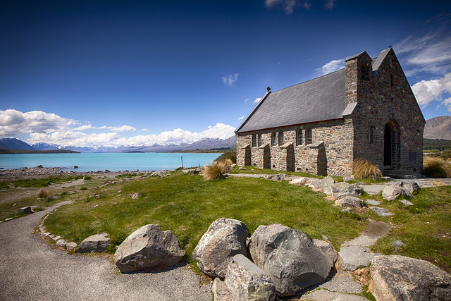 Church of the Good Shepherd - Lake Tekapo -  New Zealand