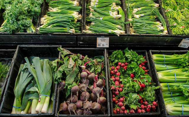 vegetables color quality