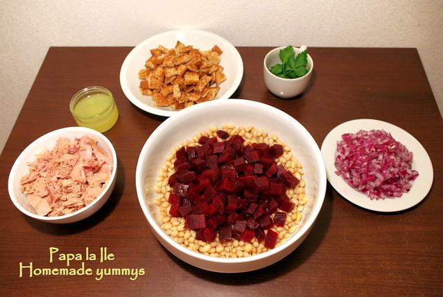 Salata cu fasole boabe si ton (4)