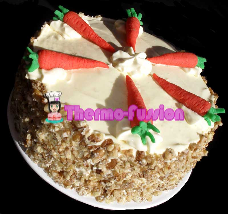 Thermomix Carrot Cake No Nuts