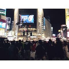 Good night from Shibuya, Tokyo!  おやすみなさい   #CoolJapan #Japan #Tokyo #Shibuya #vsco #vscocam