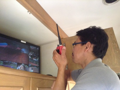 ติดตั้งระบบ CCTV บ้านคุณเยื้อน พุทธมณฑล นครปฐม – 16/03/57