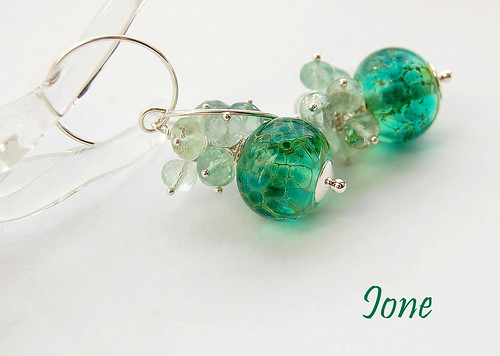 Ione Earrings by gemwaithnia