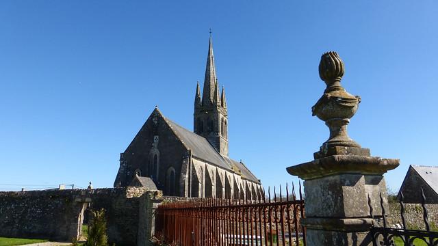 L'église Saint-Georges de Colomby