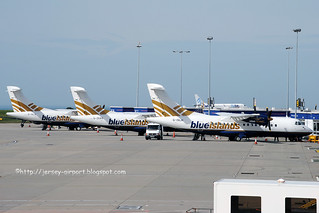 Blue Islands ATR-42 line up