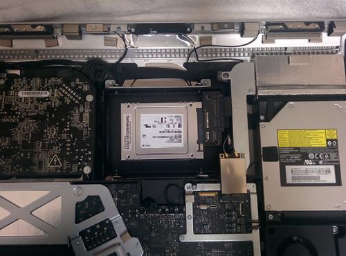iMac Mid 2010 SSD換装