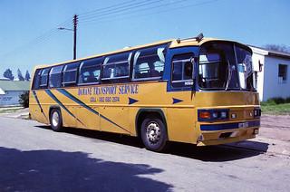 Damane Transport Service bus
