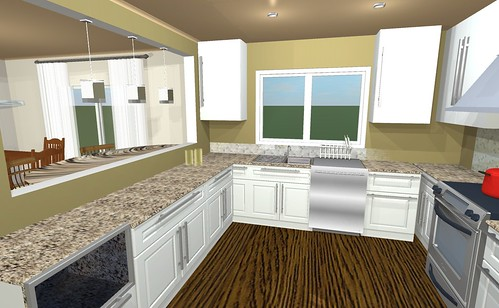 Kitchen concept window