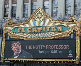 Legendary actor/filmmaker Jerry Lewis is having his classic film 'The Nutty Professor' screened @ 6:15 PM PDT at The El Capitan Theatre here in Hollywood as part of the fifth annual TCM Classic Film Festival.