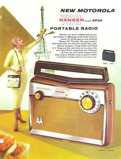 MOTOROLA Portable Radio Dealer Sheet Model Ranger 700 - 6P34 (USA 1957)_1
