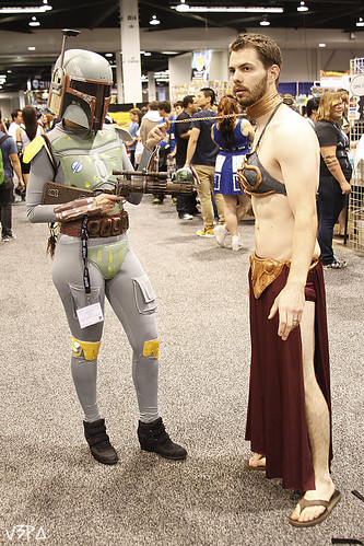 Crossplay Fett and Lei