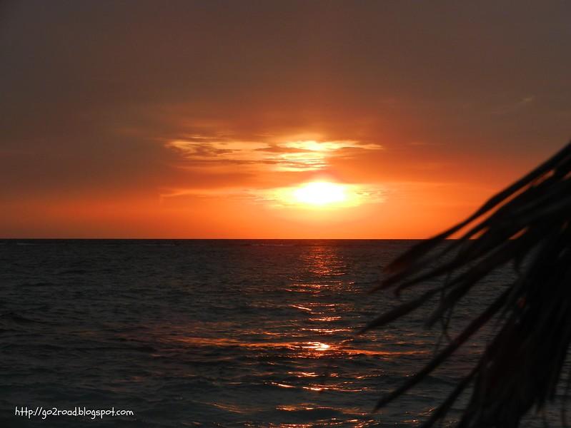 Мальдивы, закаты