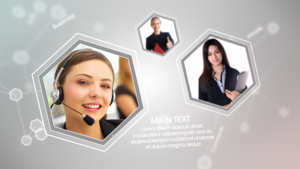 Videohive - Corporate Network 7719587 - Free Download