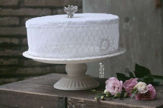 copri torta handmade
