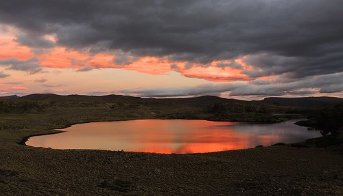 chile patagonia nubes andes laguna chilecentral mesetademalonehue lagunaslasmellizas