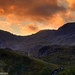 Flame sky Mountains - The Snowdon Range by Daveyboy_75