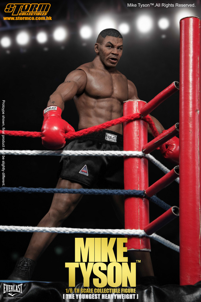 Storm Collectibles【Mike Tyson】最年輕的世界重量級冠軍 麥克·泰森 1/6 比例 一般零售版