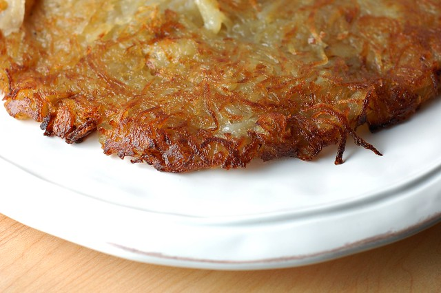 Potato rosti by Eve Fox, The Garden of Eating, copyright 2015