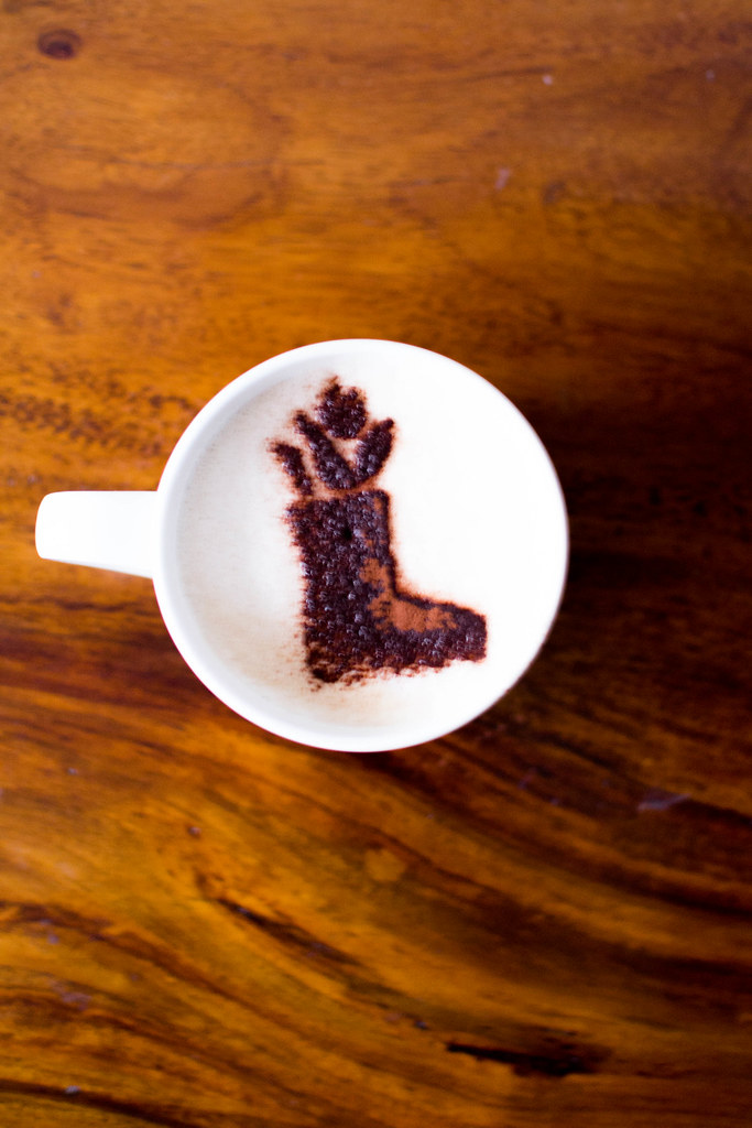DIY Cappuccino Stencils