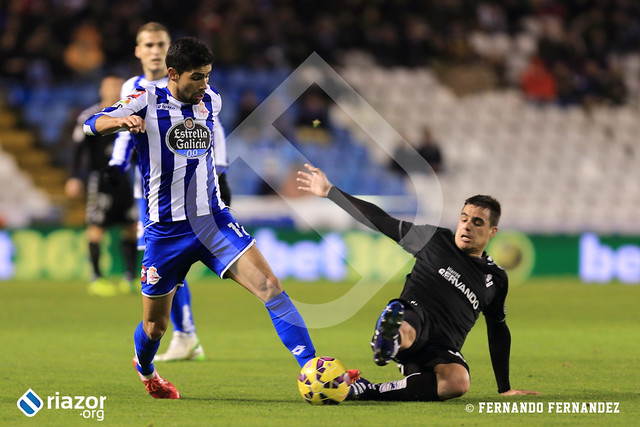 Liga BBVA. R.C.Deportivo 2 - Eibar 0