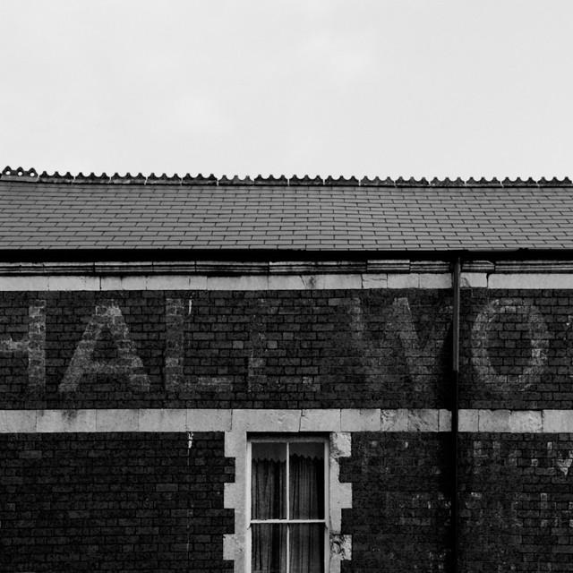 ghost signage, cardiff