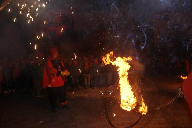 Correfoc de festa major de molins 2014