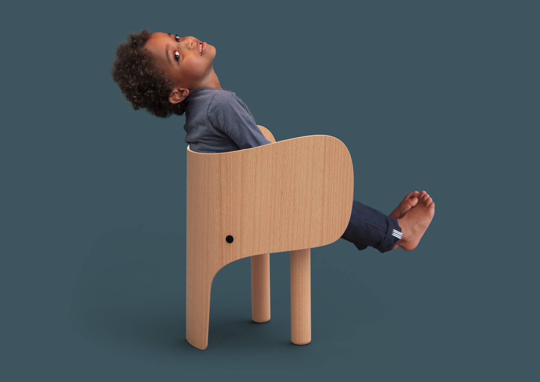 elements optimal - elephant chair&table