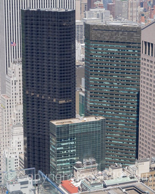 Trump Tower at 725 Fifth Avenue and 590 Madison Avenue (formerly the IBM Building), New York City