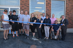 West Lincoln Accessible Ramp Ribbon Cutting