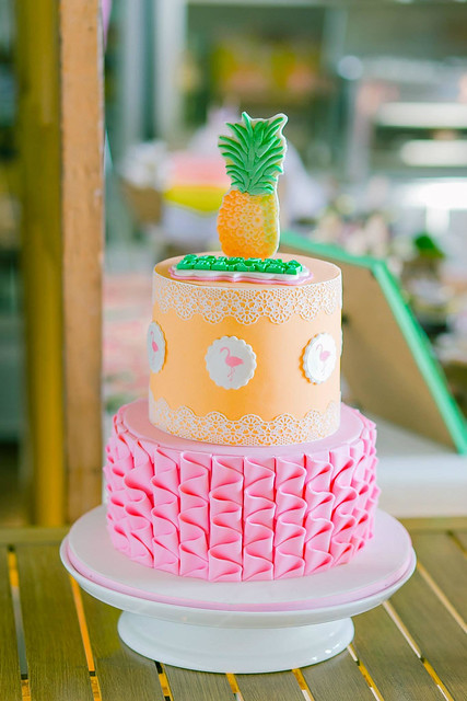 Pretty Cake by Leah Que of Dessert First