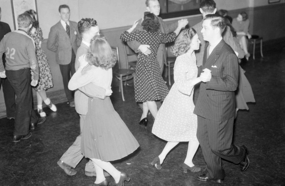 Square Dancing at North Branch Y.M.C.A., Montreal, Canada