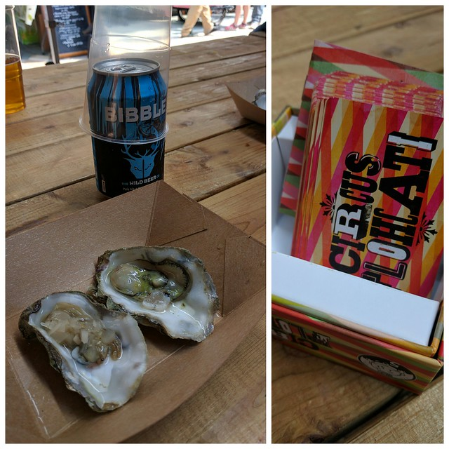 An afternoon in Sadler's Yard with @holycrab_uk, @grubmcr, and @georgiedm