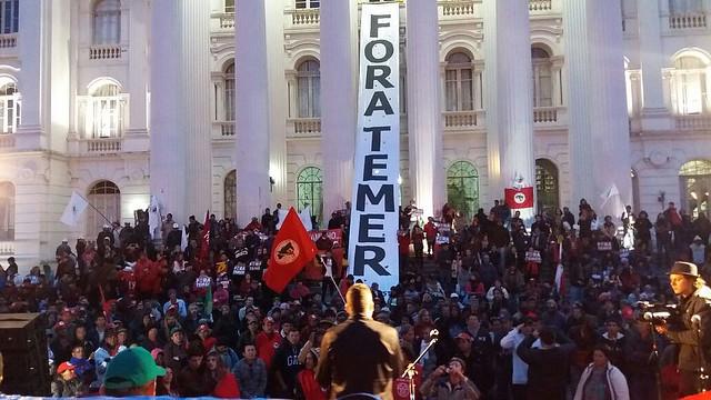 Mais de 200 mil pessoal participaram das mobilizações no país - Créditos: Reprodução
