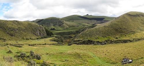 Descente du volcan Chimborazo à vélo. La vallée des Incas.