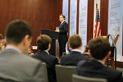 Deputy Secretary of State Antony 'Tony' Blinken delivers remarks on the value of U.S. Alliances in the 21st Century at the Center for Strategic and International Studies (CSIS) in Washington, D.C., on June 29, 2016. [State Department photo/ Public Domain]