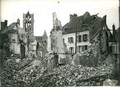 HS 2-48 (front) - Marne - ruins - WWI