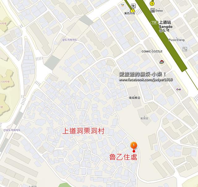 2010年魯乙住處地圖