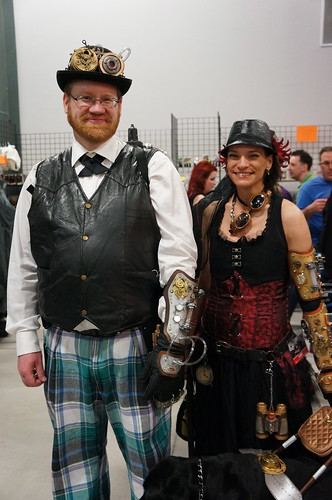 Steampunky couple