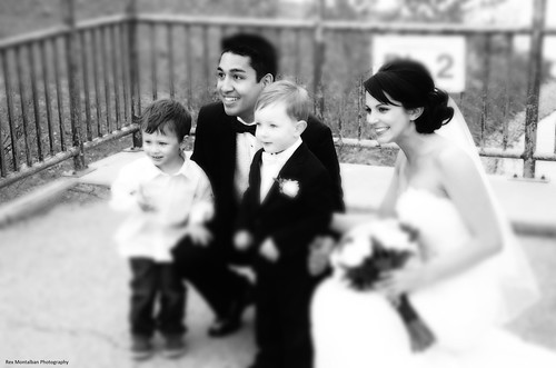 my sister's youngest son got hitched