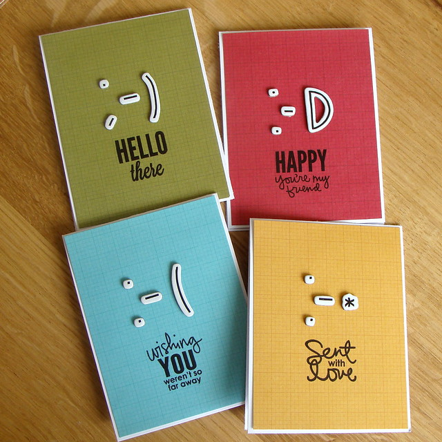 Smiley Card Set