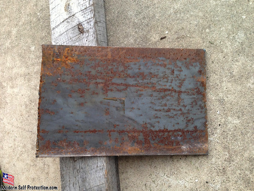 Rust for a Lube Test