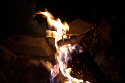 Roast dem marshmallows